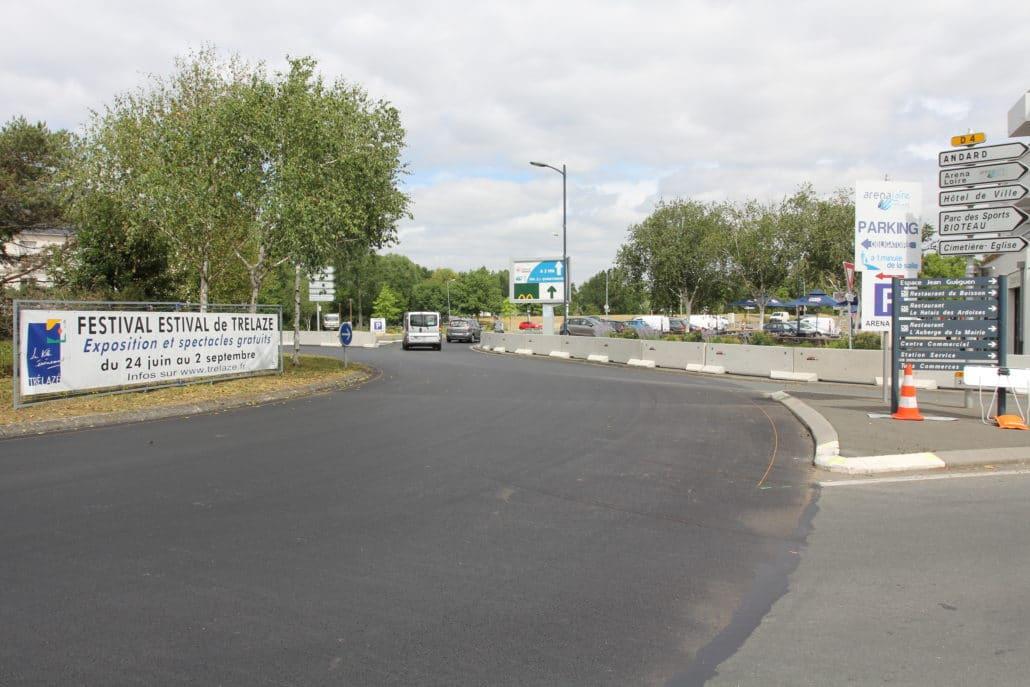 Festival estival de Trélazé (49) - évènement - Protection des passants et dispositif contre intrusion de véhicules