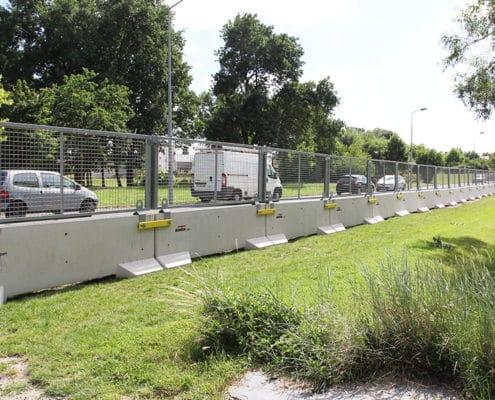 KLOSTAB - évènement - Barrières de sécurité en grillagé
