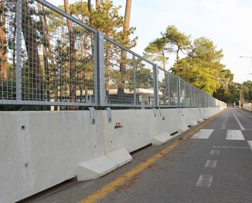 KLOSTAB - Barrières de sécurité grillagé