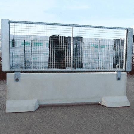 Barrière de sécurité KLOSTAB - Habillage grille