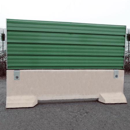 Barrière de sécurité KLOSTAB - Habillage tôle