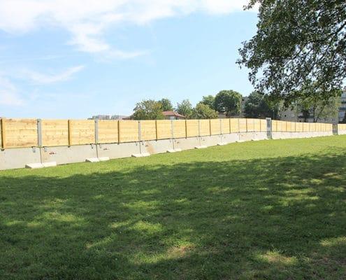 KLOSTAB - Barrières de sécurité palissade bois