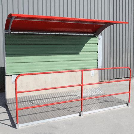Barrière de sécurité KLOSTAB - Passage couvert
