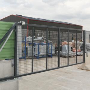 Barrière de sécurité KLOSTAB - Portail coulissant adaptable