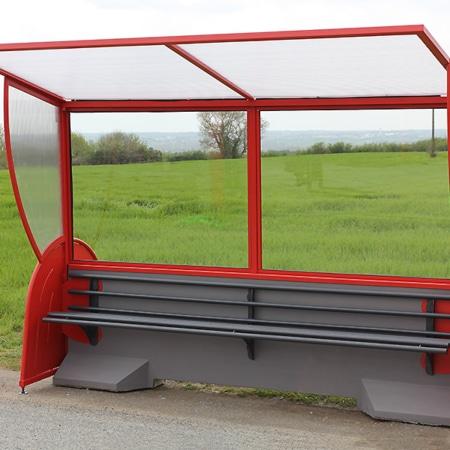 Barrière de sécurité KLOSTAB - Option abri bus