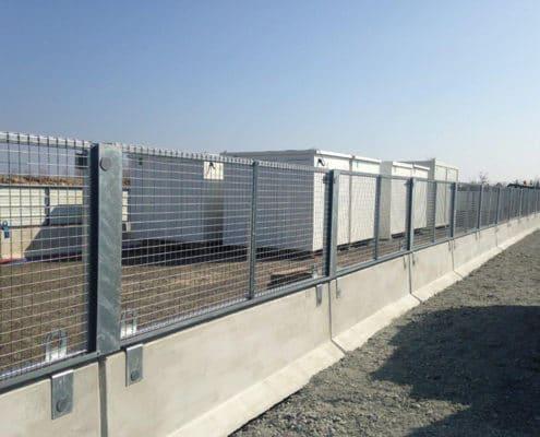 Barrière de sécurité KLOSTAB - évènement - Zone de confinement des intervenants