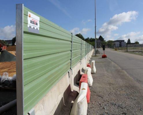 Nouveau chantier avec la barrière KLOSTAB - Région de Nantes
