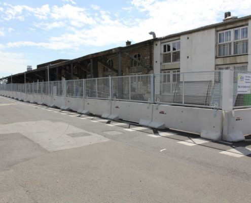 KLOSTAB - Barrières de chantier en béton, sécurisez vos périmètres