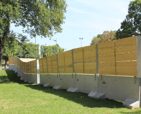 KLOSTAB - Réalisation d'une enceinte sécurisée à l'occasion de Clichy Plage, côté parc gaucheKLOSTAB - Réalisation d'une enceinte sécurisée à l'occasion de Clichy Plage, côté parc gauche