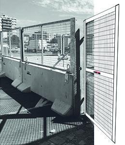 KLOSTAB - Portillon d'accès - Barrières en béton pour la sécurité de vos périmètres, chantiers BTP, évènements, collectivités