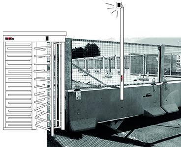 KLOSTAB - Tourniquet - Barrières en béton pour la sécurité de vos périmètres, chantiers BTP, évènements, collectivités