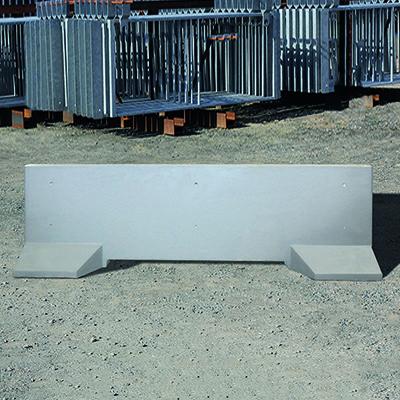 Barrière de sécurité KLOSTAB - Socle stabilisateur béton