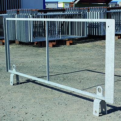 Barrière de sécurité KLOSTAB - Cadre métallique