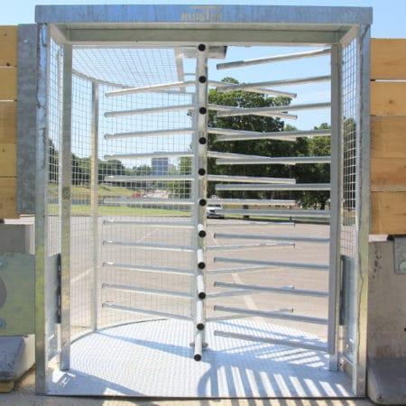 Tourniquet KLOSTAB, accessoires pour les barrières de sécurité en béton