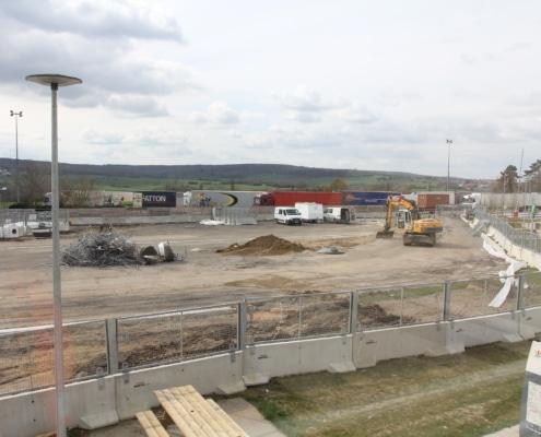 Fermeture complet du chantier de l'Aire Morainvilliers Sud